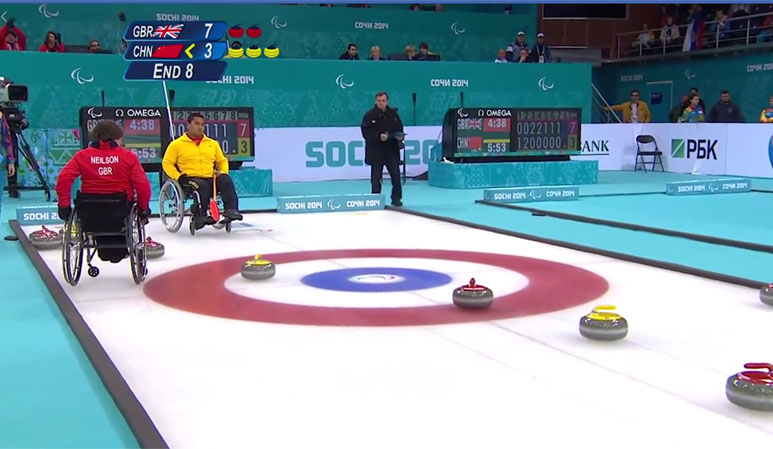 Disabilities Curling Completion